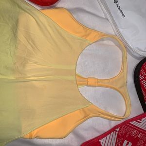 lululemon athletica Tops - BNWOT LuLuLemon Bright Yellow Tank